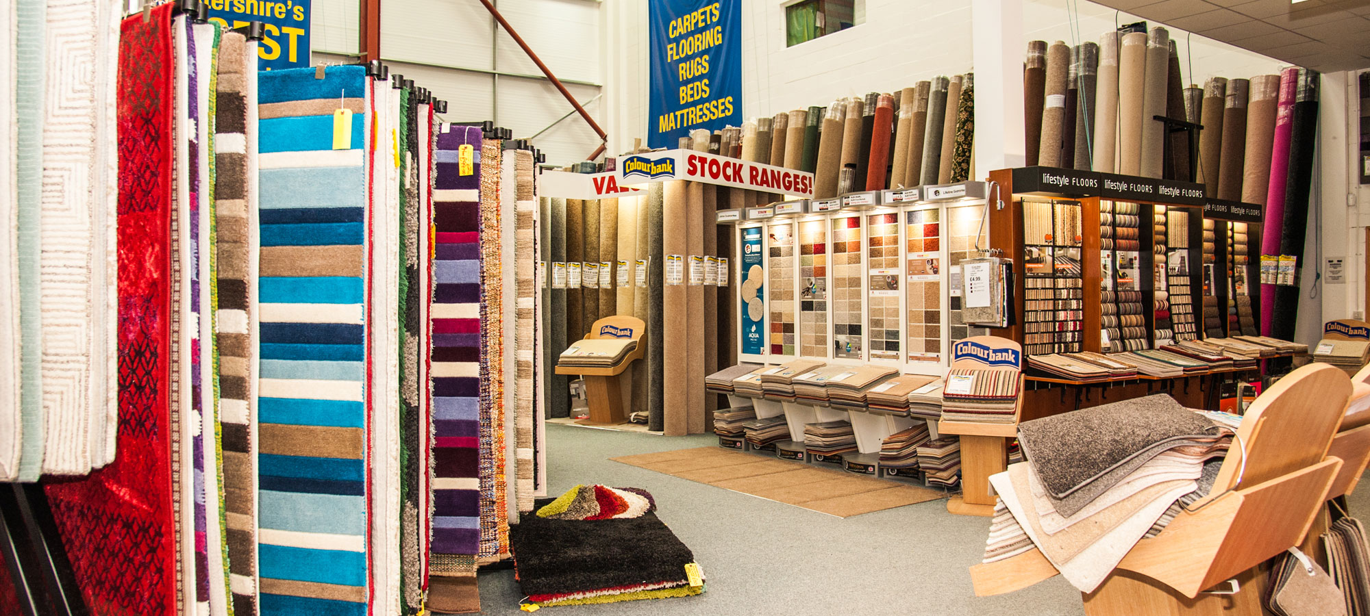 Biggest for carpets Leicester