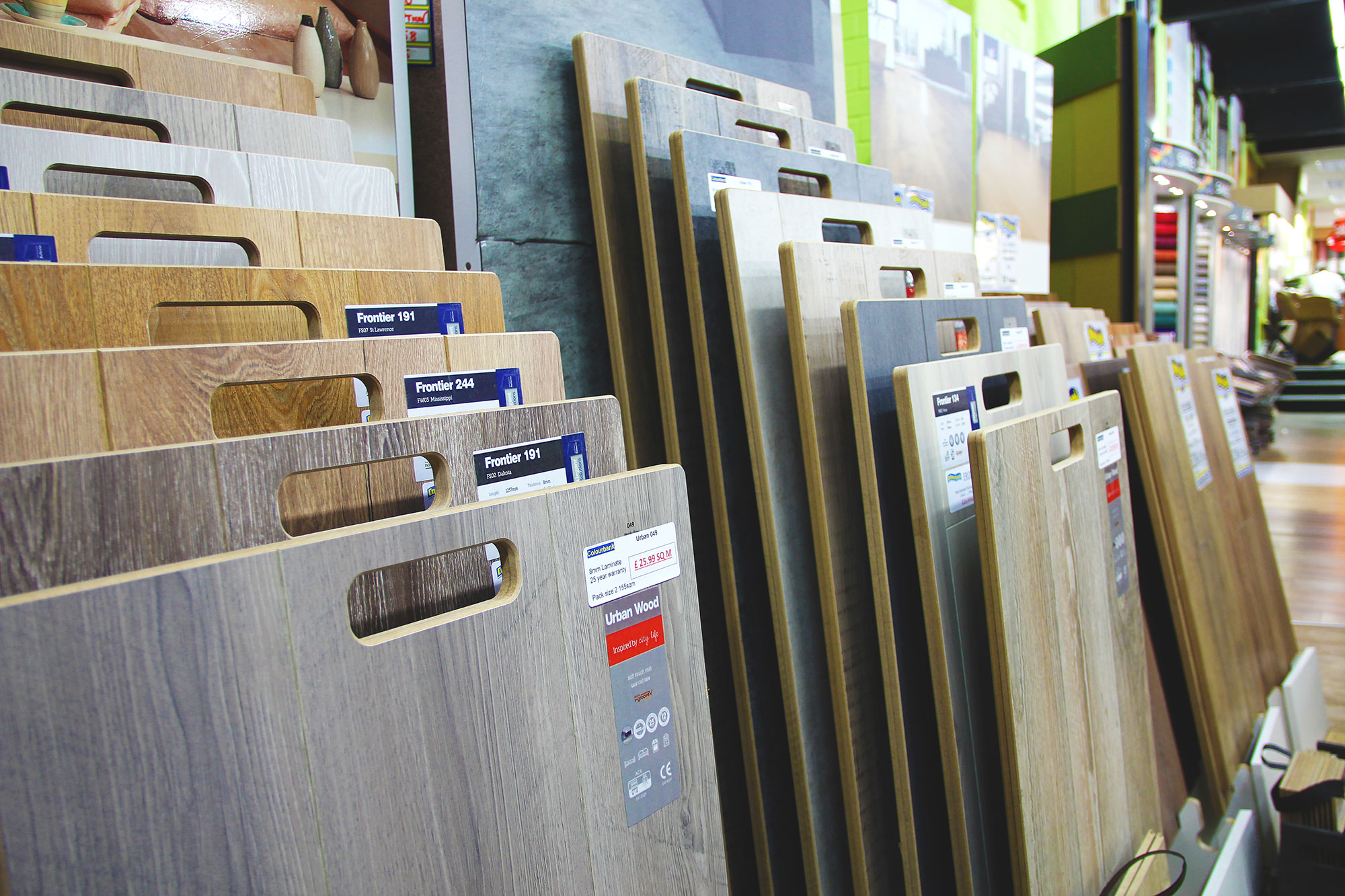 The biggest wood flooring shop Leicester