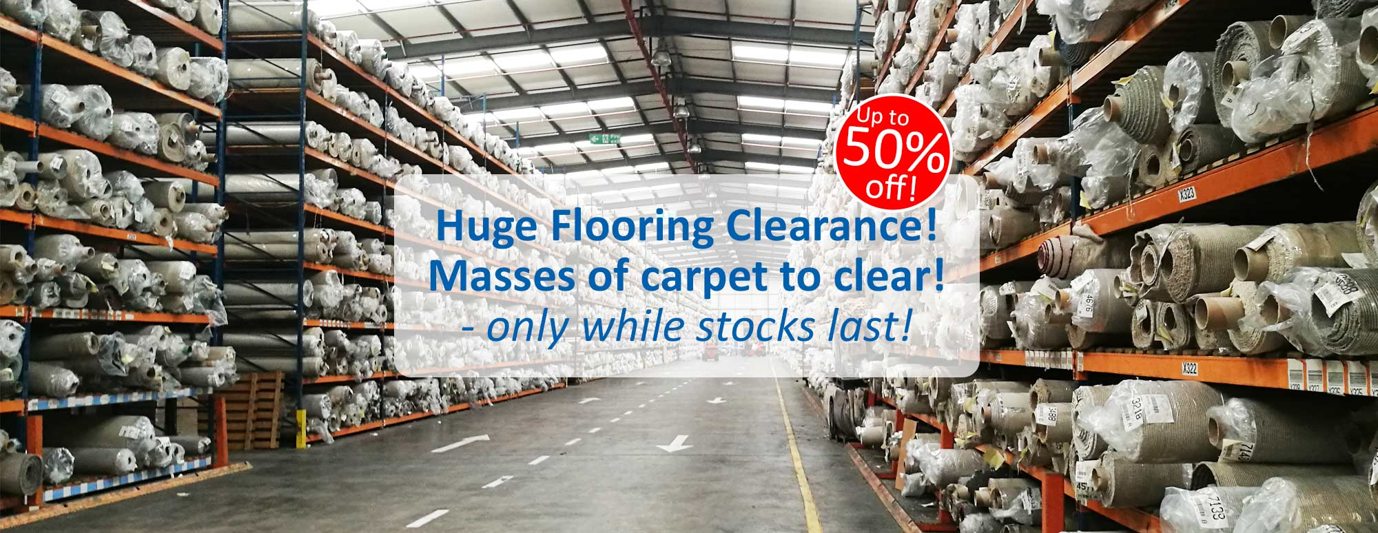 Carpet Clearance!